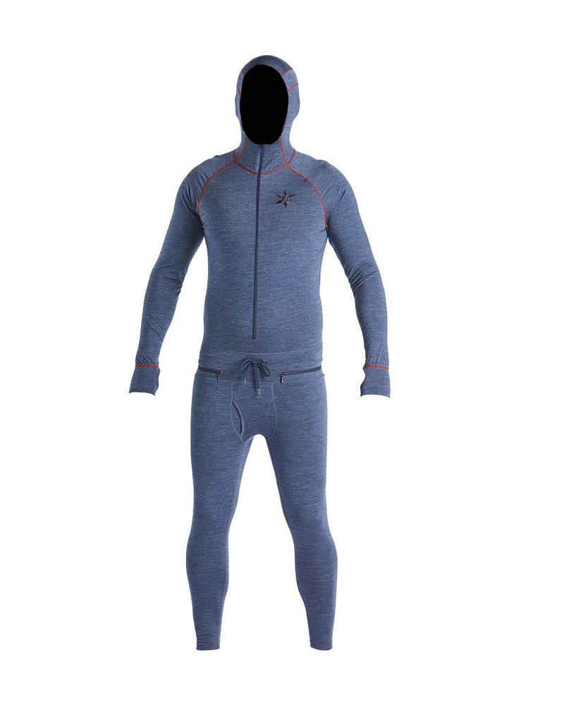 Airblaster Men's Merino Wool Ninja Suit - Navy