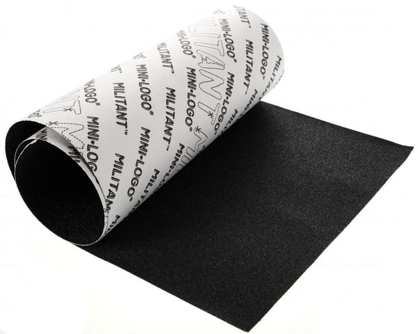"Black Mini Logo Grip Tape Single Sheet 9"" x 33"""