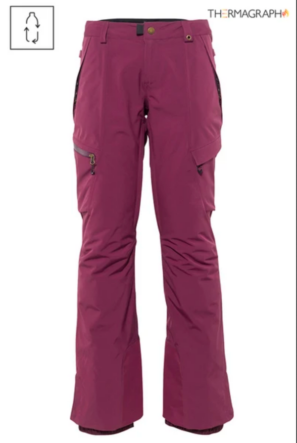 686 2021 GLCR Geode Thermagraph Snow Pant - Plum