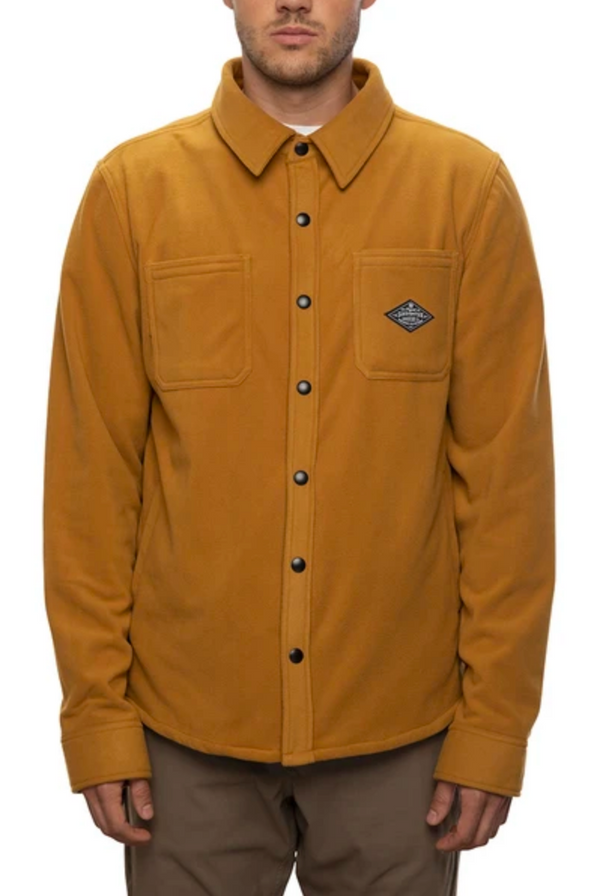 686 Sierra Fleece Flannel - Golden Brown
