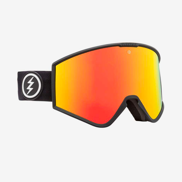Electric Kleveland Goggle - Matte Black Brose/Red Chrome