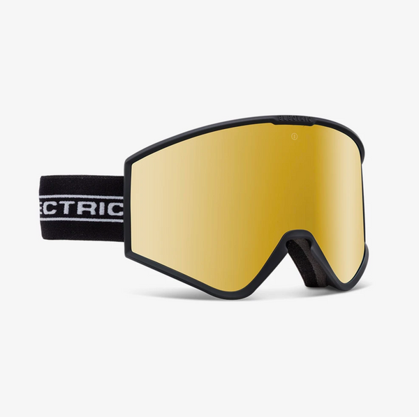 Electric Kleveland Goggle With BONUS LENS - Black Tape Brose/Gold Chrome
