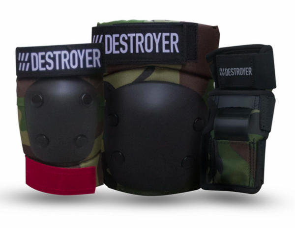 Destroyer G Series Grom Pack Pads - Camo