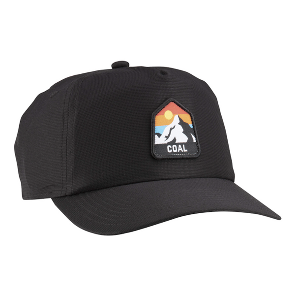 Coal Peak Outdoor UPF 5-Panel Hat - Black
