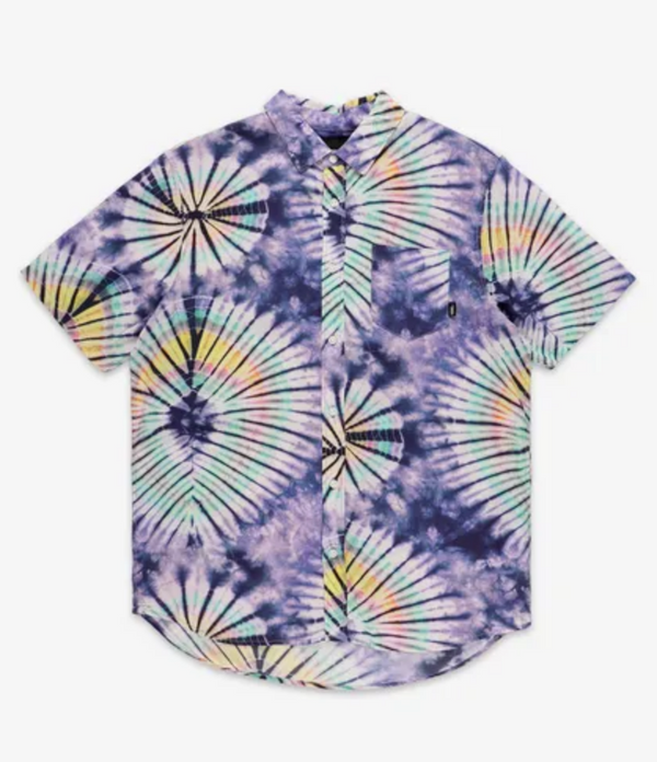 Vans New Age Tie Dye Button Up Shirt