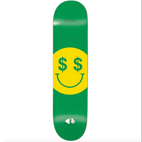 Enjoi Cash Money Skateboard Deck - 8.25""
