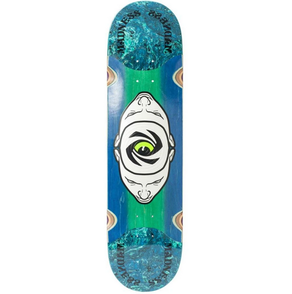 Madness Minds Eye Slick Skateboard Deck - 8.125""