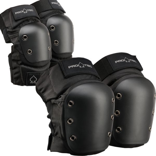 Pro Tec Knee/Elbow Pad Set Black