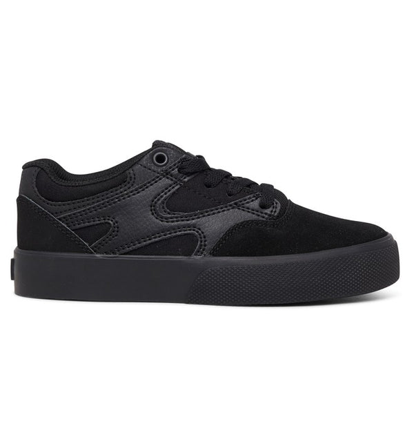 DC Kalis Vulc Youth Black/Black Shoe