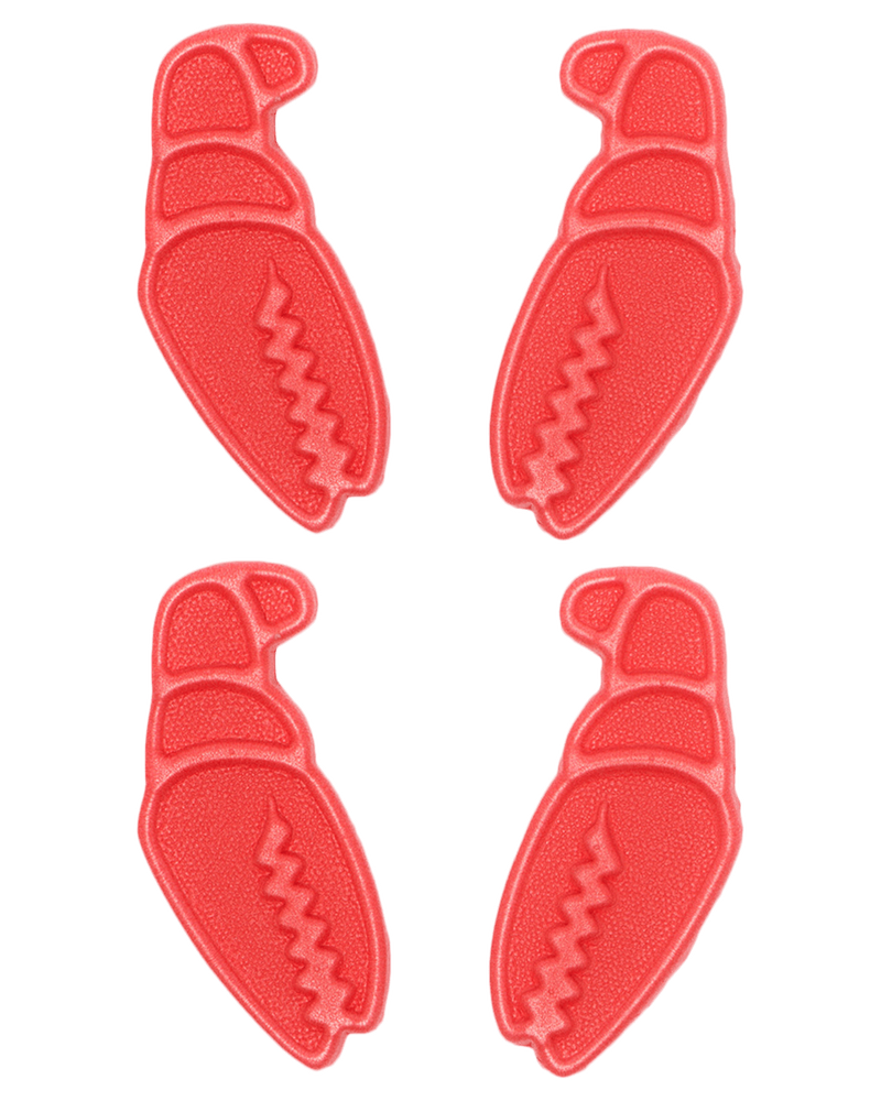 Crab Grab Mini Claws 4 Pack - Red