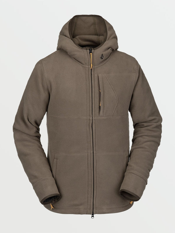 Volcome Polartec Fleece - Dark Teak