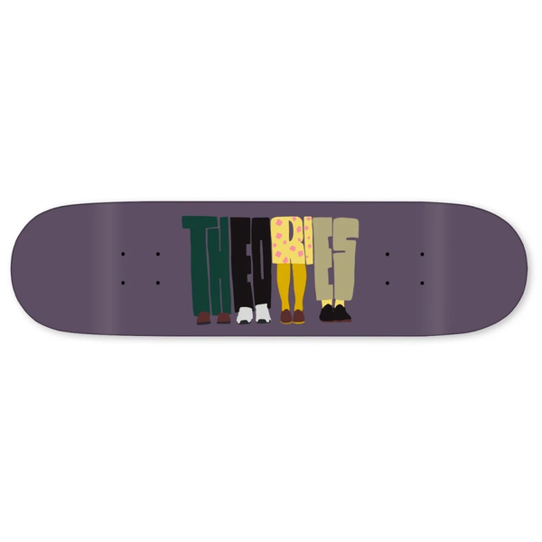 Theories of Atlantis About Nothing Skate Deck Plum 8.0