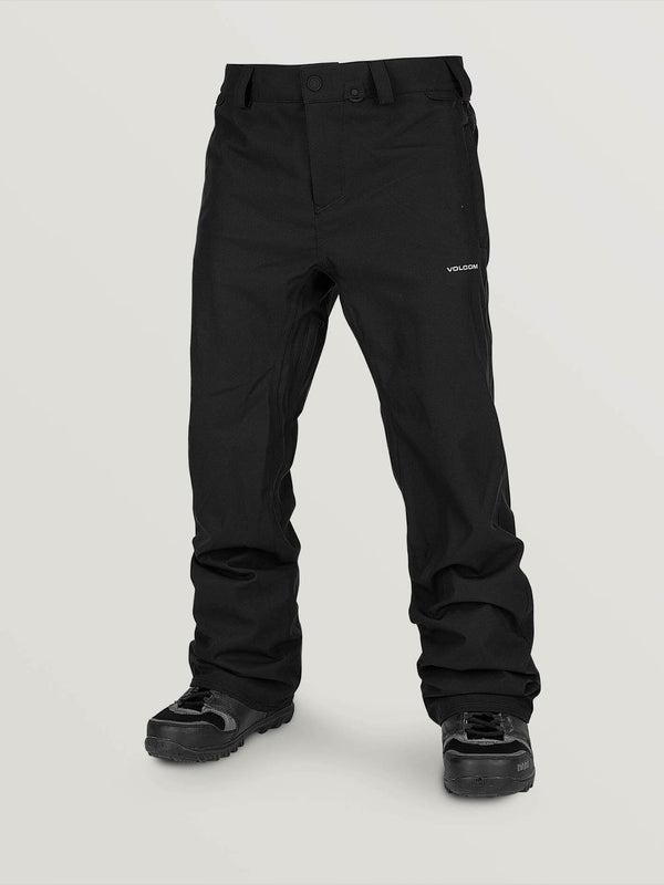 Volcom 2021 Youth Freakin Chino Snow Pant - Black
