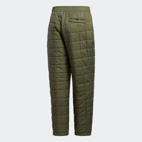 Adidas Quilted Pants -Green