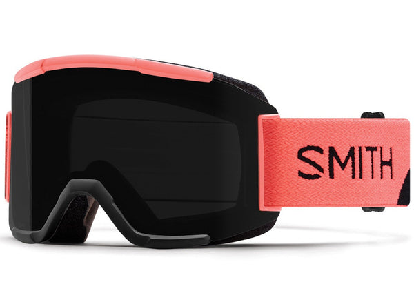 Smith Squad Goggle - Sunburst Split Chromapop Sun Black / Yellow