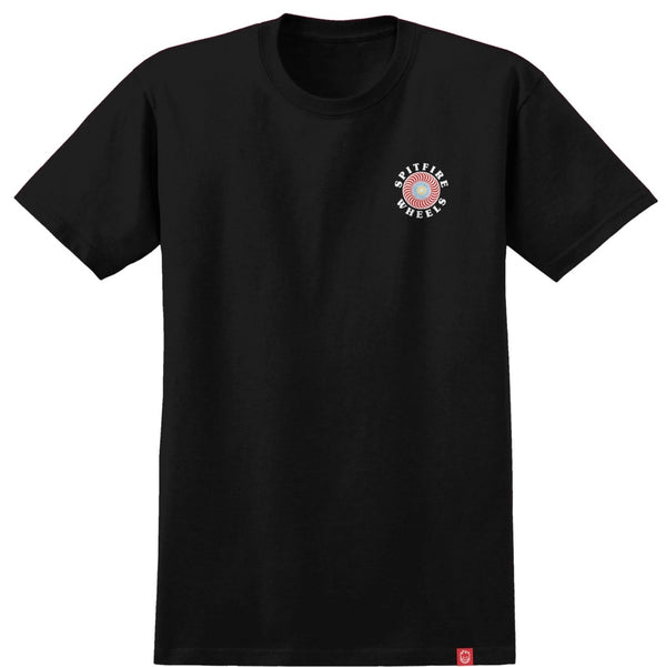 Spitfire OG Classic Fill T-Shirt - Black/Multi