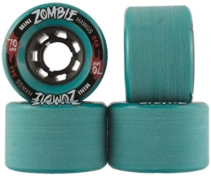 Hawgs Mini Zombies 70mm 84a - Turquoise