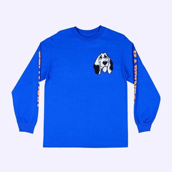 Quasi Happiness Long Sleeve-Royal Blue