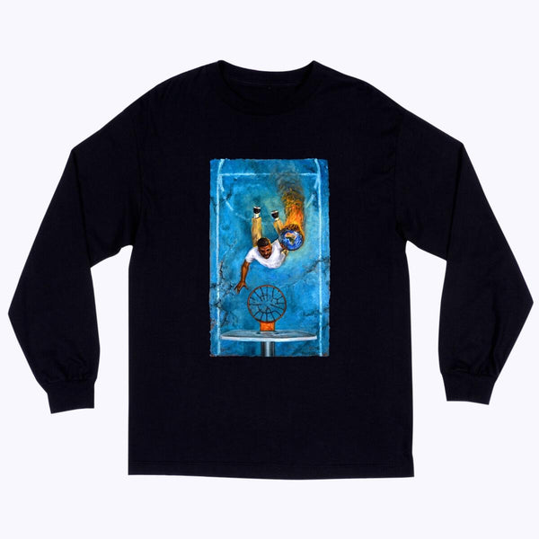 Quasi Game7 Long Sleeve T-Shirt - Black