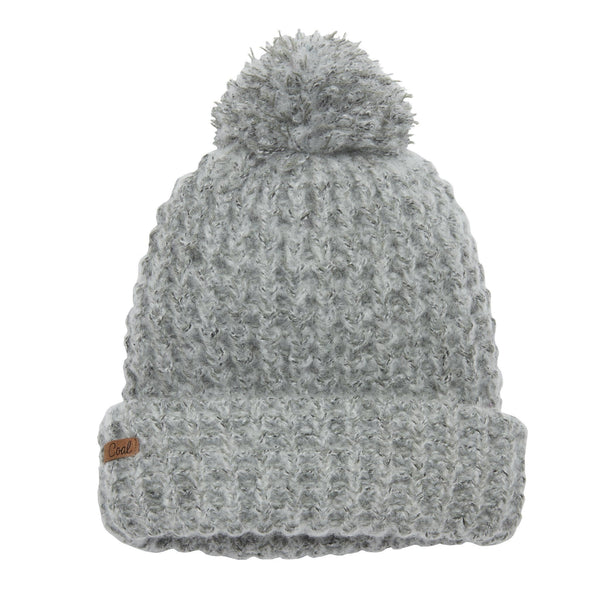 Coal The Kate Beanie - Heather Grey