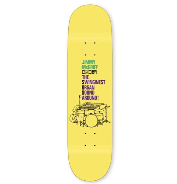 Traffic The Worm Skateboard Deck - 8.5""