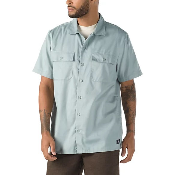 Vans Arcadia Button Down Shirt - Abyss
