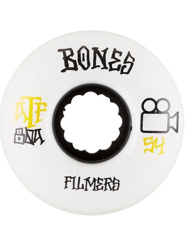 Bones ATF Filmers Wheels - 80a 56mm White