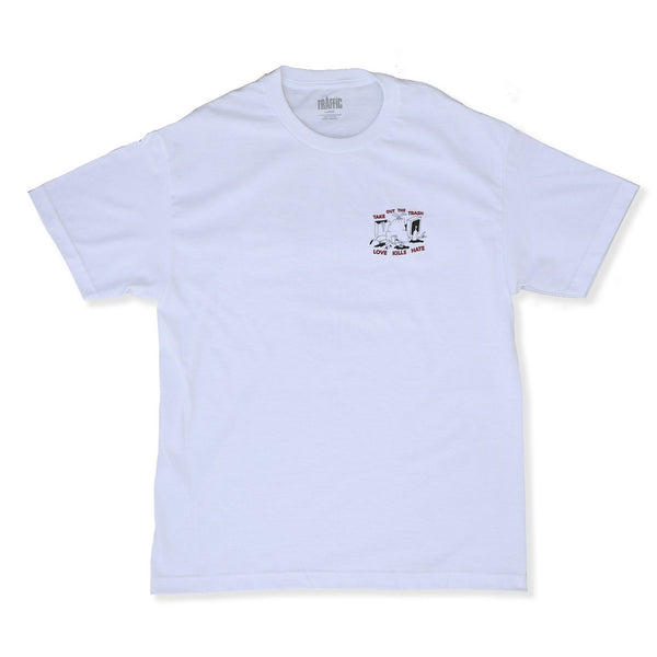 Traffic Trash T-Shirt - White