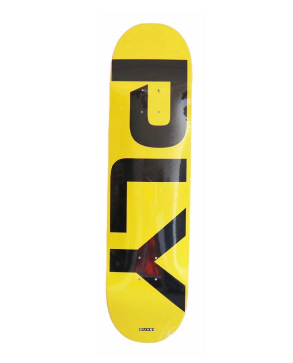 Quasi Ply Yellow Skateboard Deck - 8.375""