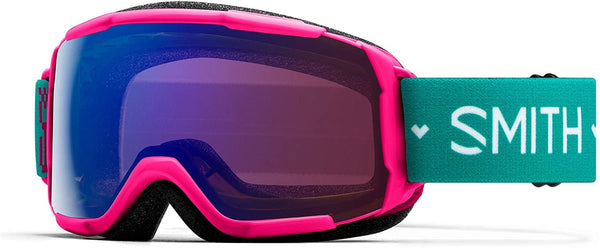 Smith Grom Youth Goggle - Pink Flower Chromapop Everyday Violet Mirror