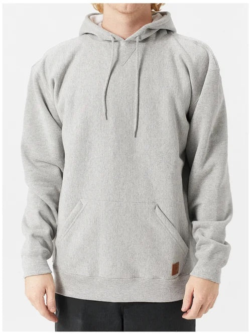 Brixton Longman II Reserve Hoodie - Heather Grey