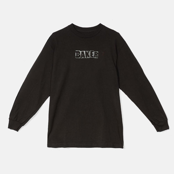 Baker Brand Logo Long Sleeve -Black