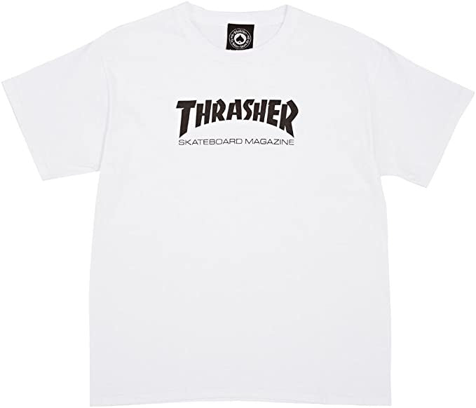 Thrasher Mag White T-Shirt Large
