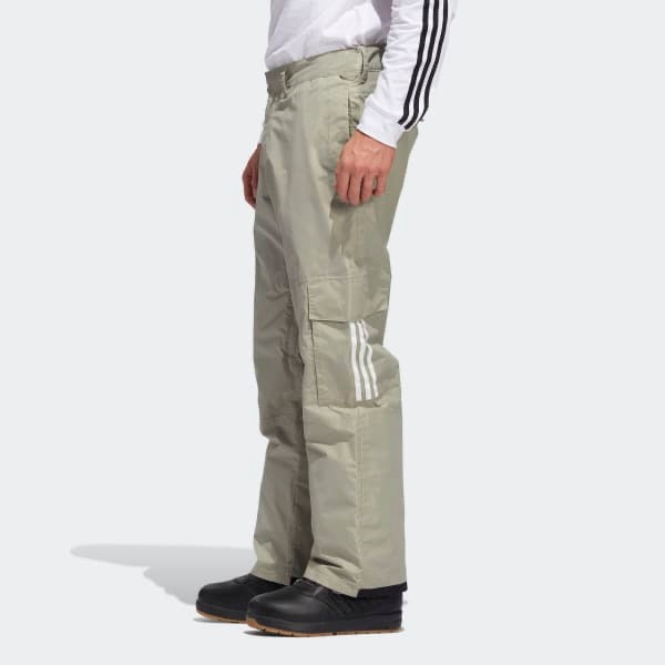 Adidas 2021 10k Cargo Snow Pant - Feather Grey