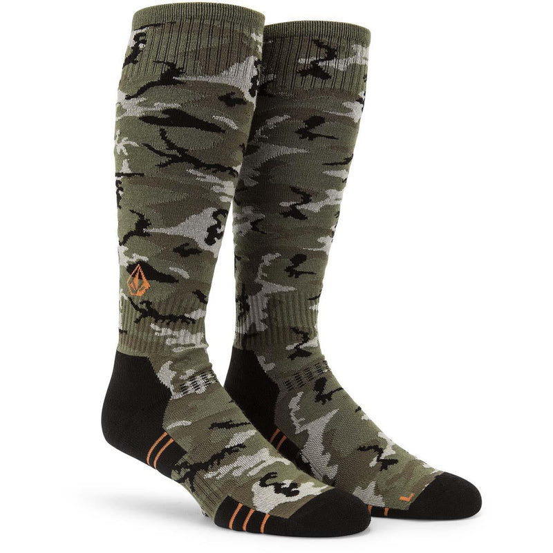 Volcom Lodge Snowboard Sock - Camo