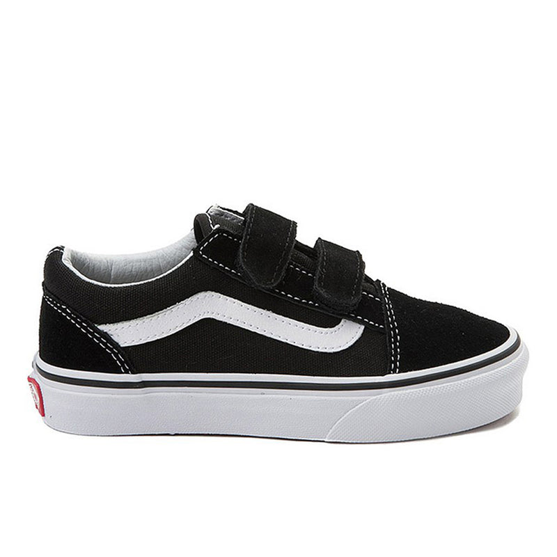 Vans Old Skool Pro Velcro ToddlerShoe Black/True White