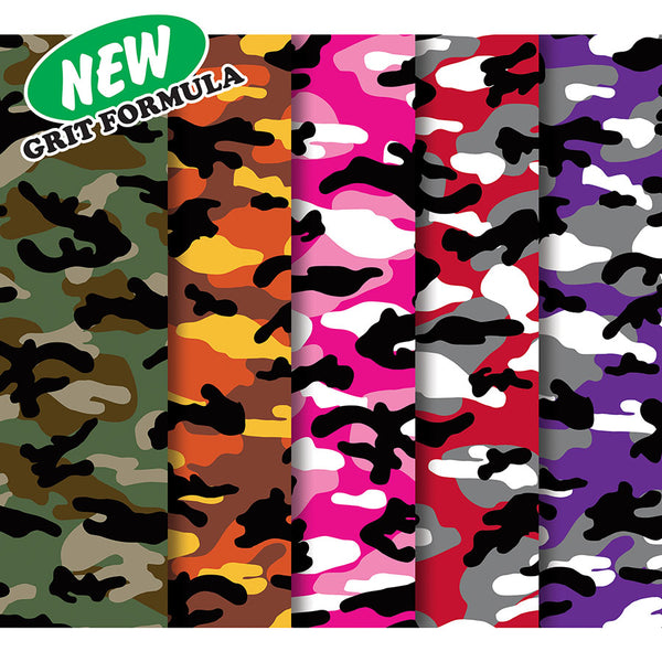 Mob Camo Skate Board Griptape - Assorted
