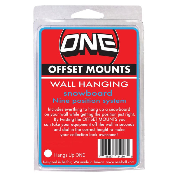 One Ball Wall Hanging Offset Mounts
