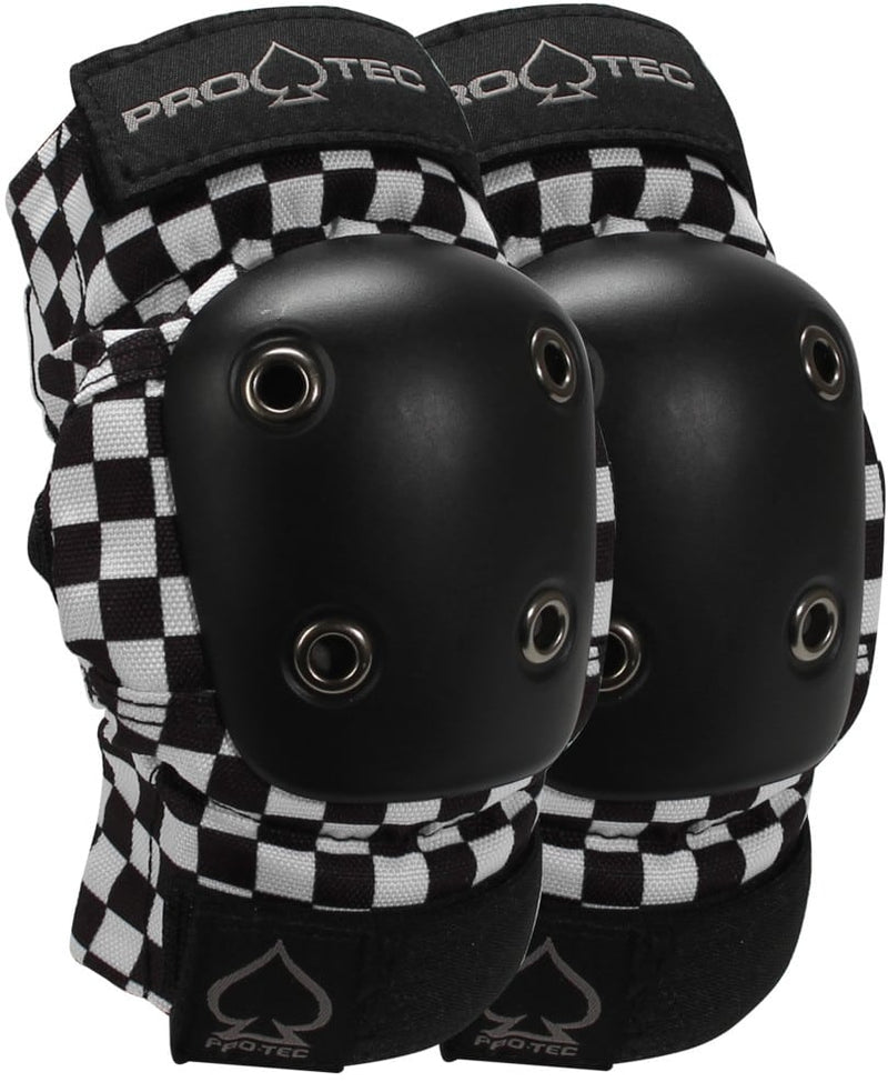 Pro Tec Elbow Pad Black Checkered