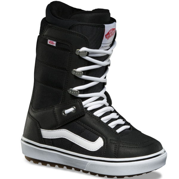 Vans 2021 High Standard OG Snowboard Boot - Black/White