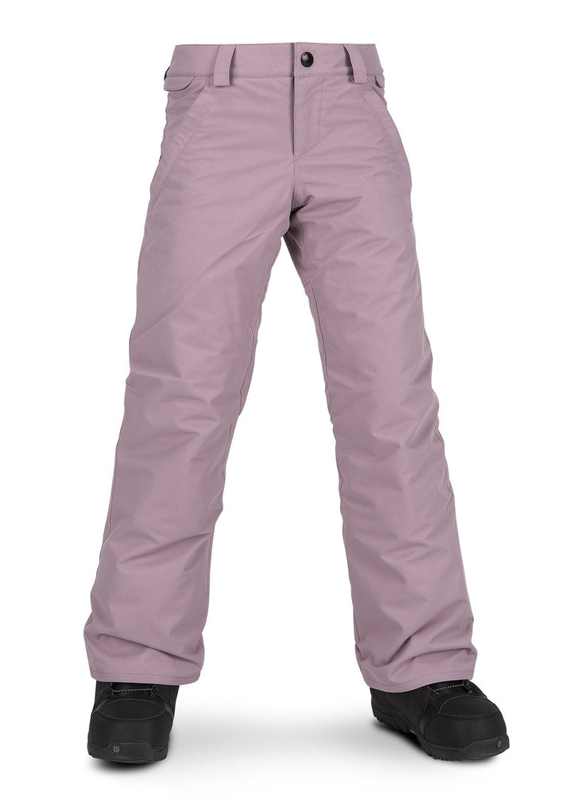 Volcom Frochikidee Insulated Youth Snow Pant - Purple Haze