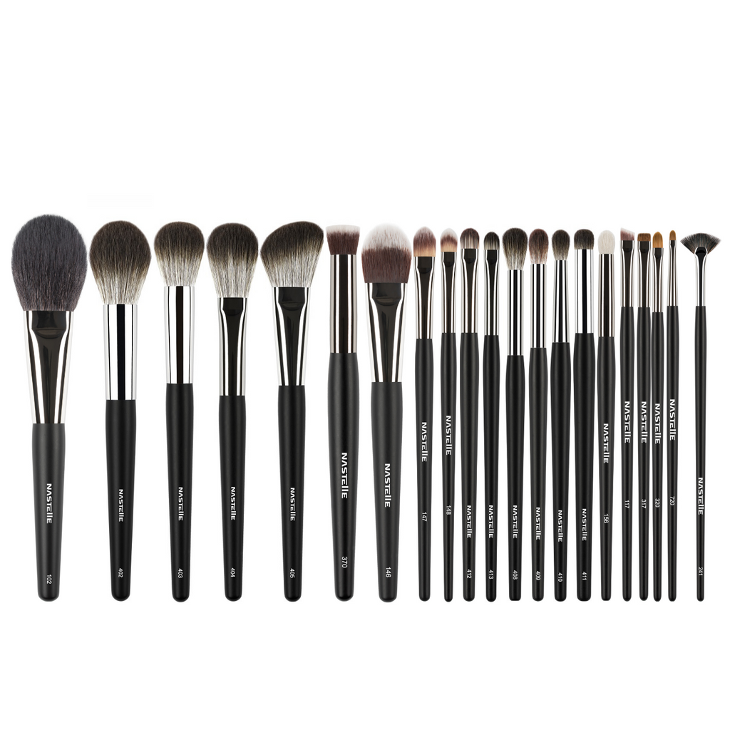 Nastelle | Set pensule Pro Makeup Brush Set, 21 buc.