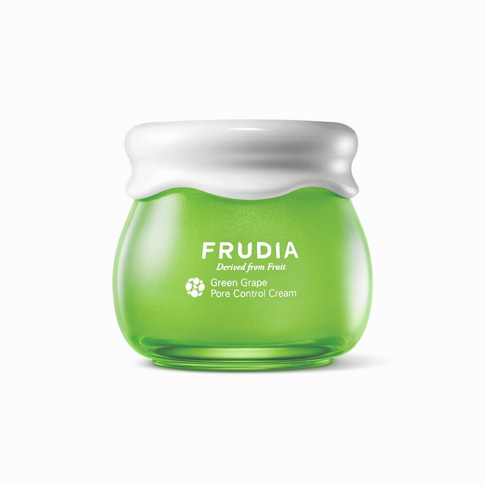 Cremă matifiantă cu extract de struguri verzi, Frudia, Green Grape Pore Control Cream