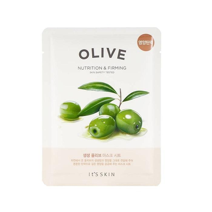 Mască facială pentru nutriție ten, It`s Skin, The Fresh Mask Sheet Olive