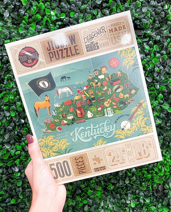 500 Piece Jigsaw Puzzle State of Kentucky