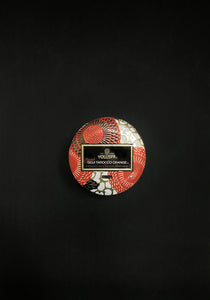 Voluspa - SPICED GOJI TAROCCO ORANGE MINI TIN CANDLE