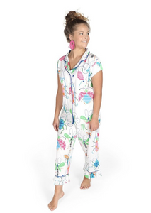 Snuggle Bugs Sateen Pajama Set