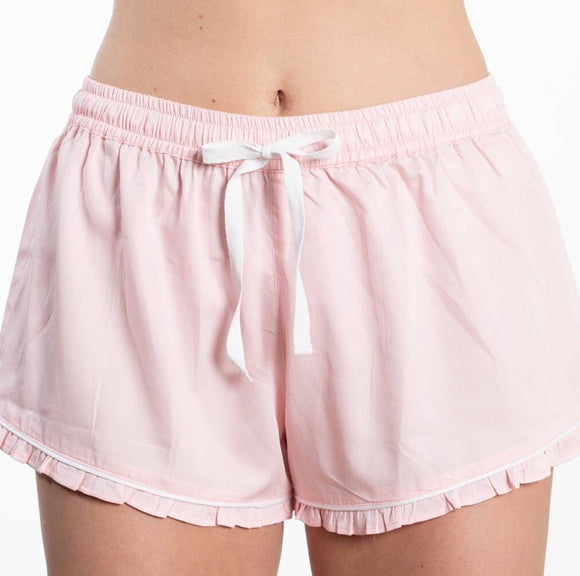 Ruffled Sleep Shorts