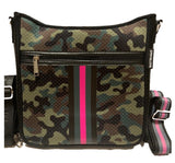 """Pink Army"" Messenger Bag"