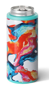 Swig - Color Swirl Skinny Can Cooler (12 oz.)